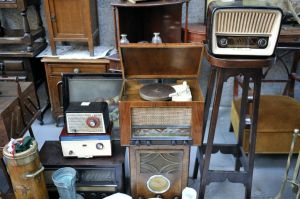 Flea-market-and-radio-equipment