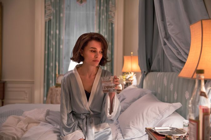 "Natalie Portman as ""Jackie Kennedy"" in JACKIE. Photo by Stephanie Branchu. © 2016 Twentieth Century Fox Film Corporation All Rights Reserved"